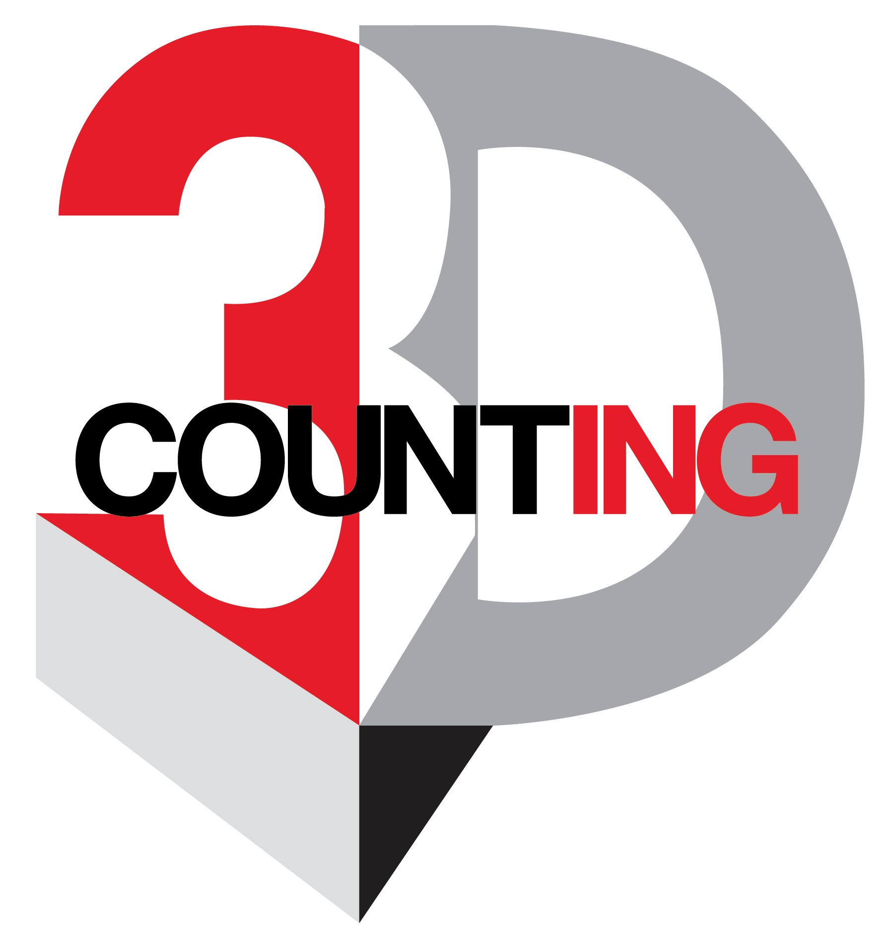 Logo 3D COUNTING